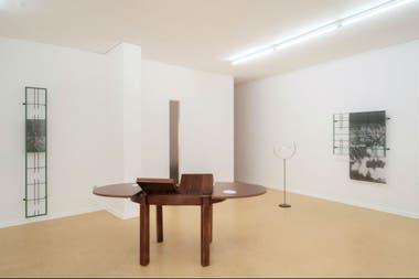 Instalación de Adriana Arroyo en la galería KM, en Berlín (2017)