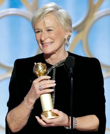 Glenn Close, una intérprete de raza, se quedó con el premio a la mejor actriz de drama