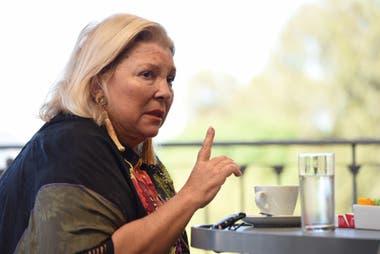 La diputada se refirió en una entrevista a la presentación de Sinceramente, el libro de la expresidenta
