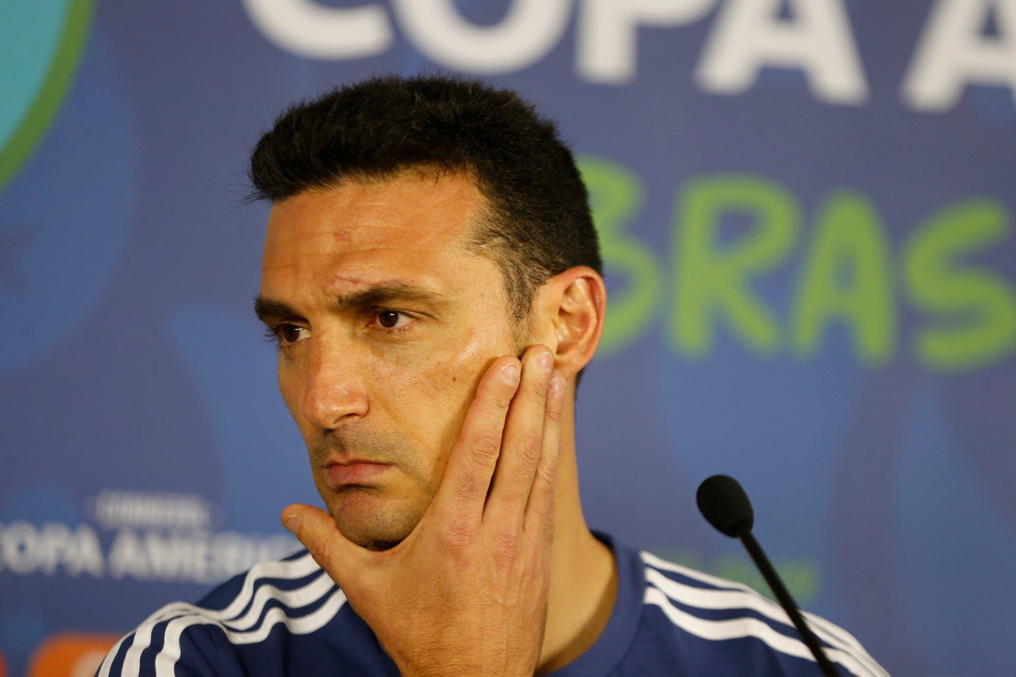 """Lionel Scaloni: """"Si ganamos la Copa América me retiro, no dirijo más"""""""