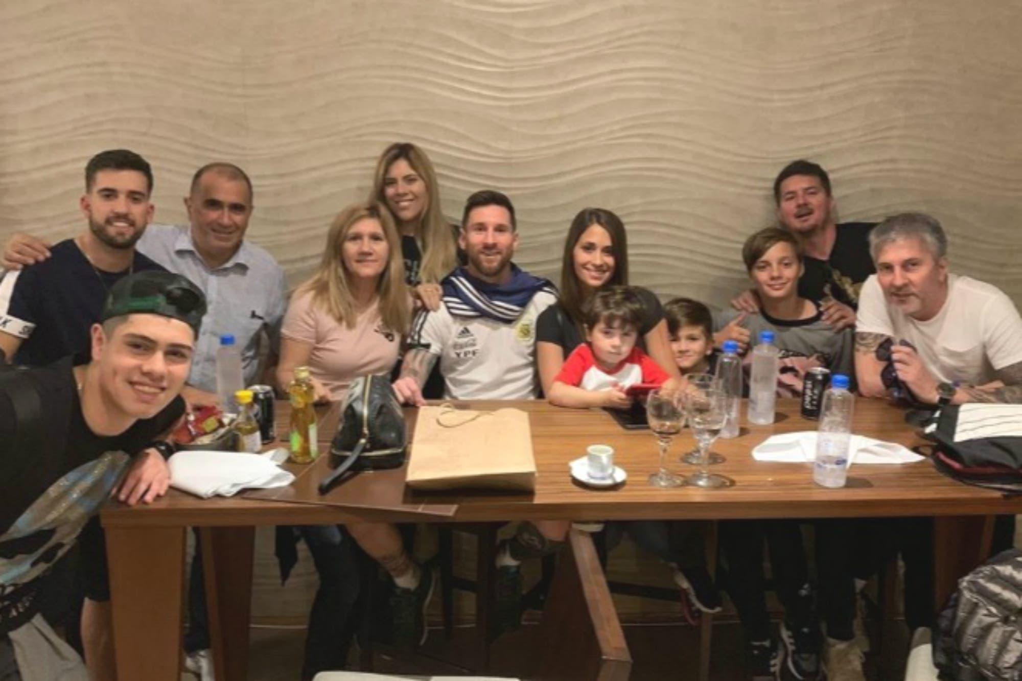 Messi, los mini Messi y el chef de la selección: un cumpleaños feliz y rodeado