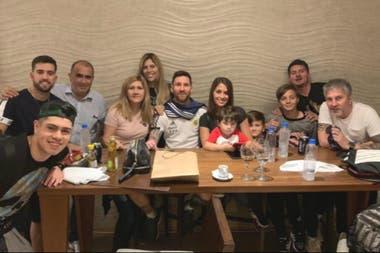 Para el álbum familiar: Messi y sus afectos