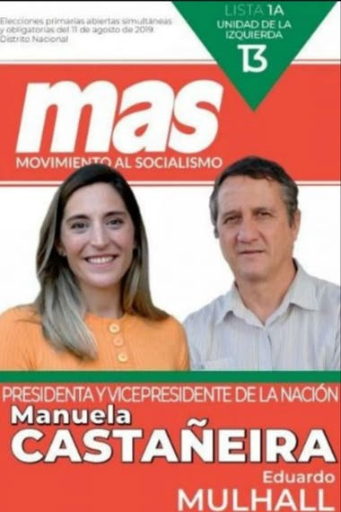 Castañeira y Mulhall encabezan la lista 13