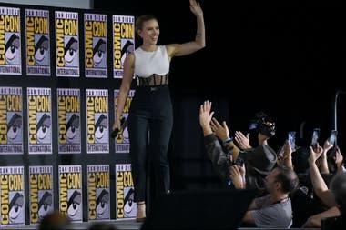 Scarlett Johansson hizo delirar al panel