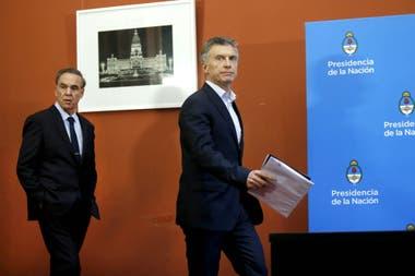 No solamente está en discusión cuál va a ser el programa de Macri, sino cuál va a ser el financiamiento de ese programa.