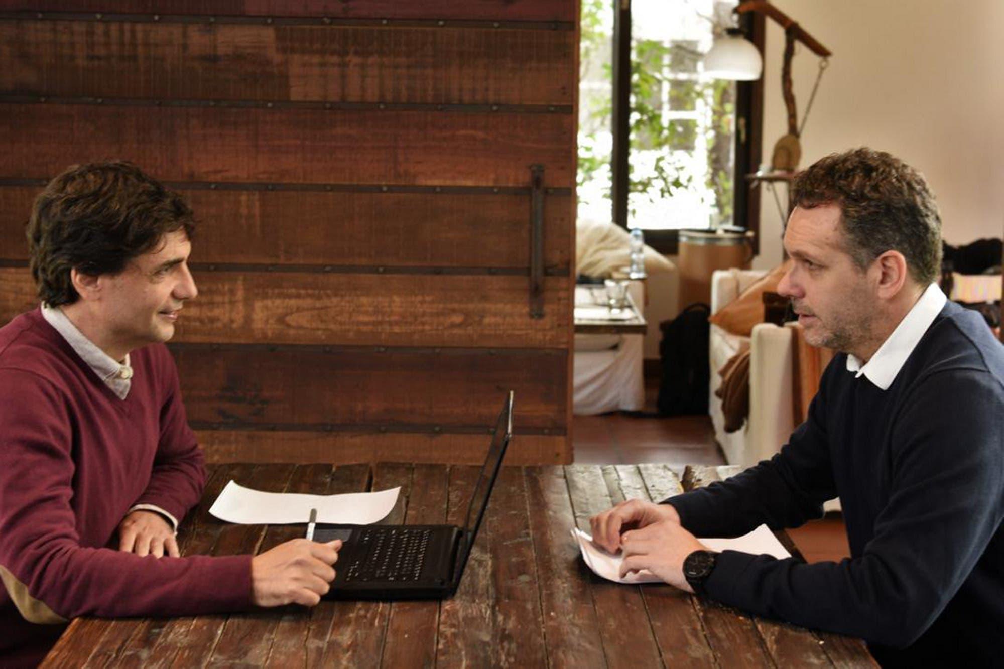 Macri siguió desde Los Abrojos el frenesí de reuniones del equipo económico