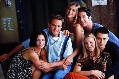 Courteney Cox, Matthew Perry, Jennifer Aniston, David Schwimmer, Matt LeBlanc y Lisa Kudrow