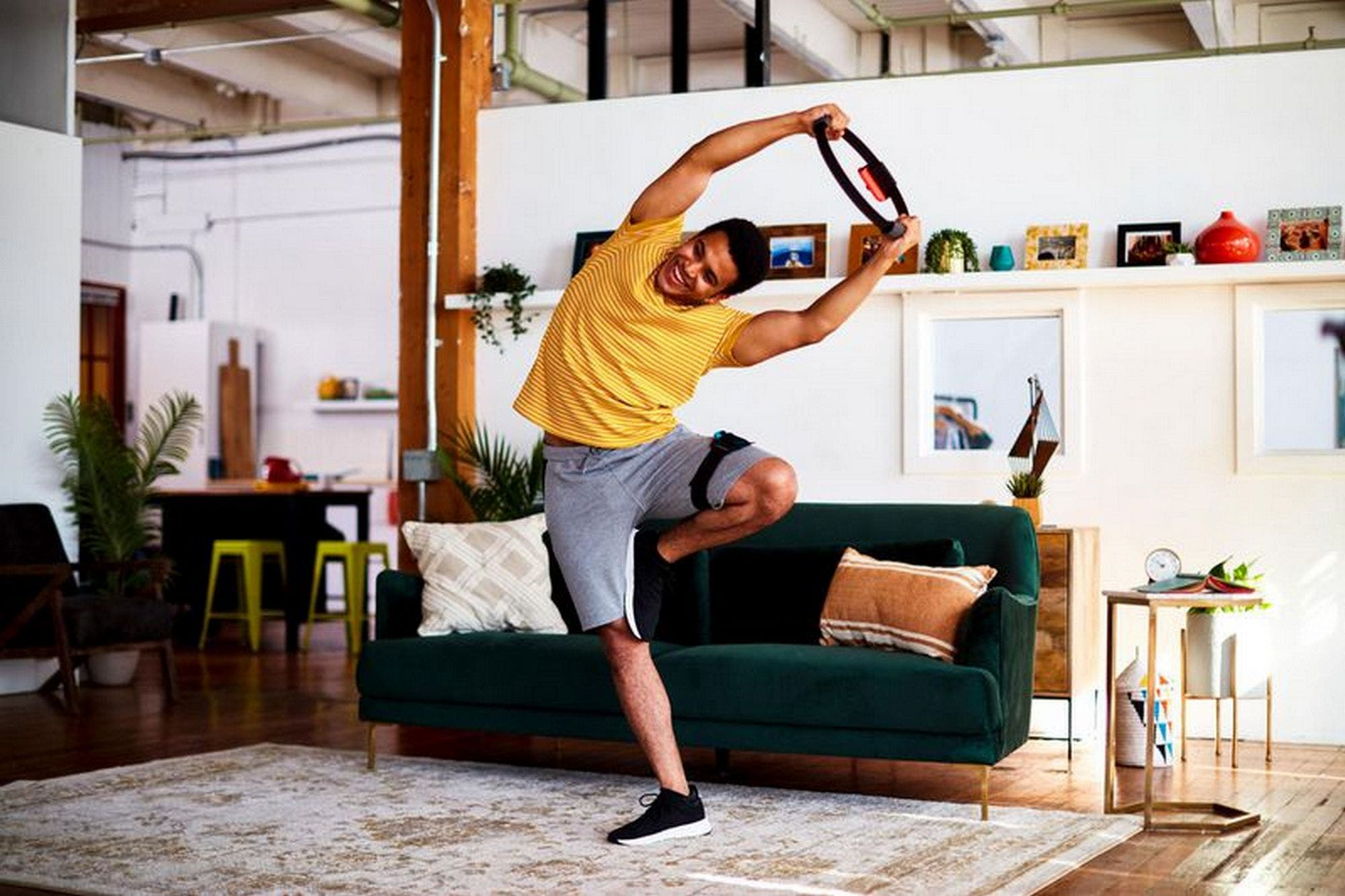 Ring Fit Adventure: así es el nuevo accesorio para hacer ejercicio con la Nintendo Switch