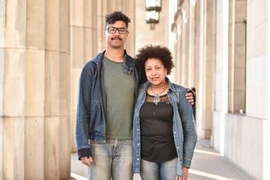 Miriam Gomes y Alí Delgado integran dos generaciones con un compromiso: visibilizar que la Argentina también es negra