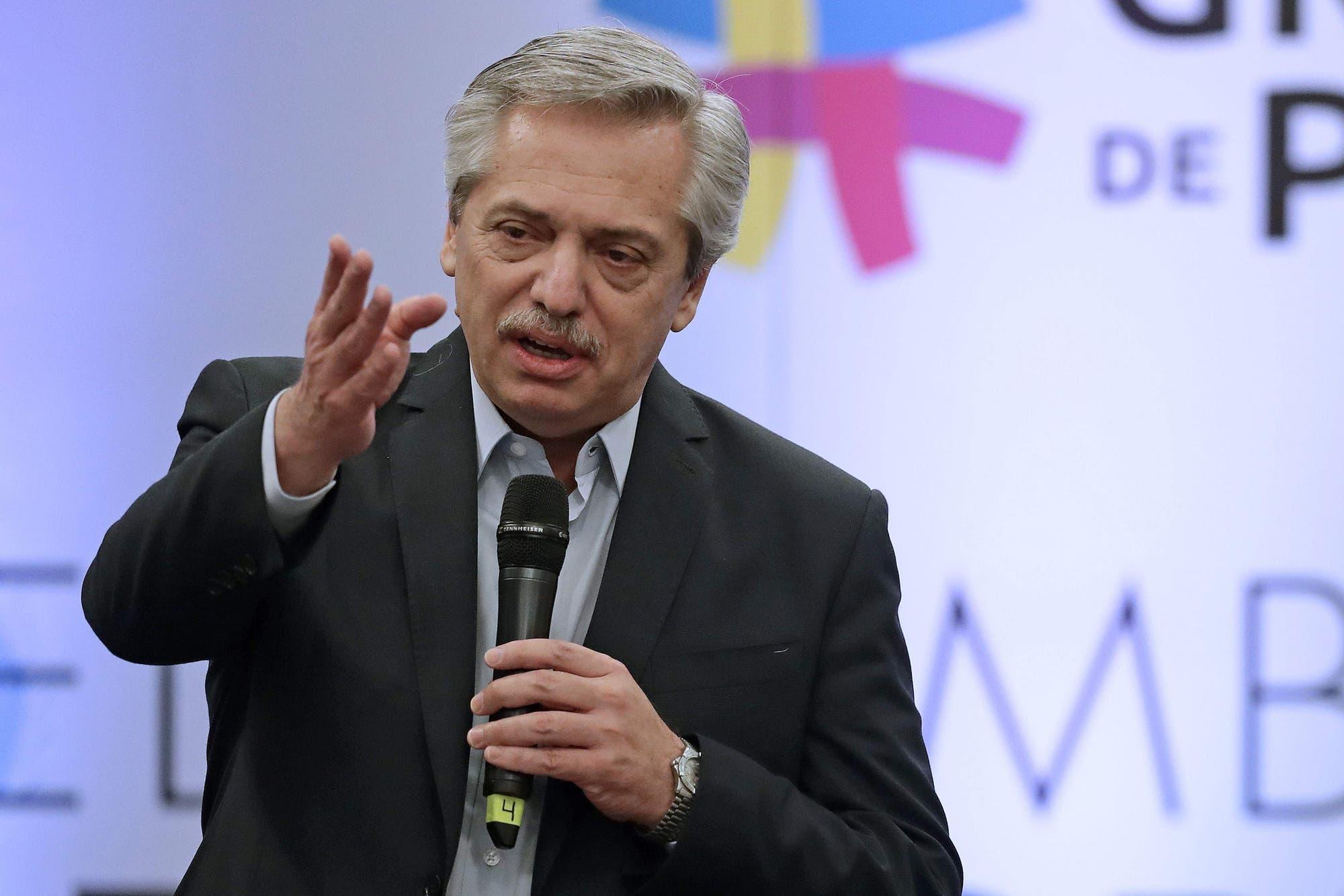Alberto Fernández le puso fecha a la presentación de sus ministros