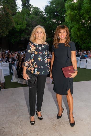 Cecilia Zuberbulher y Anama Ferreria