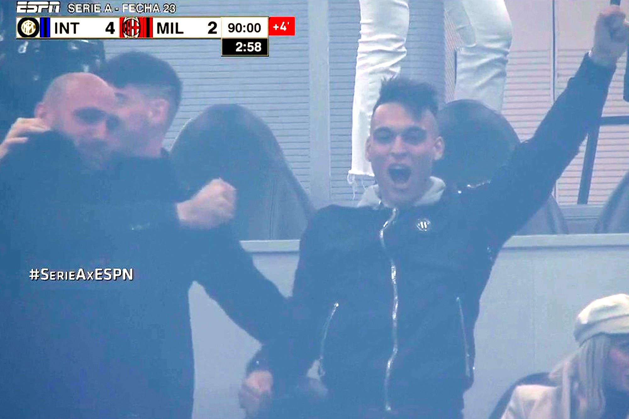 Sin Lautaro Martínez, Inter golea en el clásico de Milán después de estar 0-2 y alcanzó a Juventus