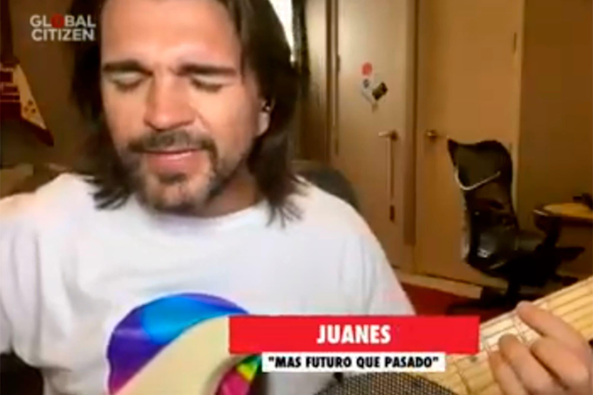 Juanes ofreció su esperado concierto sinfónico virtual con la Filarmónica de Bogotá