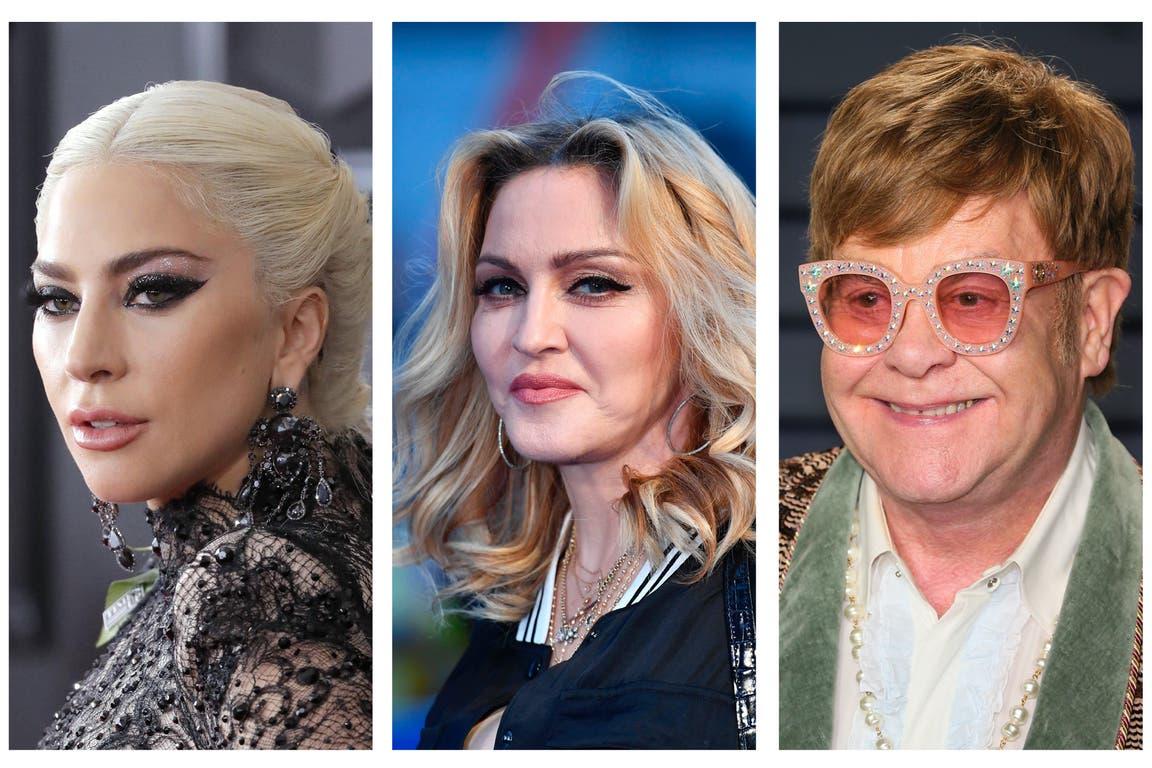Lady Gaga, Madonna y Elton John, algunos de los famosos en problemas tras ser hackeado un importante estudio de abogados