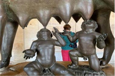 Los Museos Capitolinos reabrieron hoy en Roma