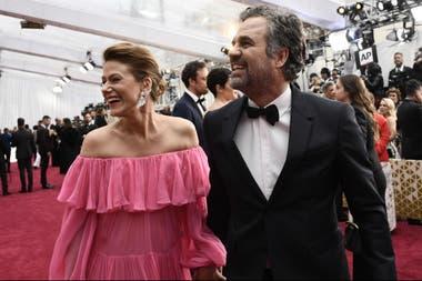 Mark Ruffalo y su mujer Sunrise