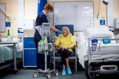 Casi la mitad de los pacientes en el cúmulo de síntomas 6 terminaron en el hospital.