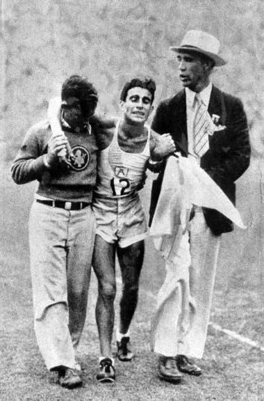 Zabala ganó la carrera de Los Ángeles 1932 en 2 horas, 31 minutos y 36 segundos