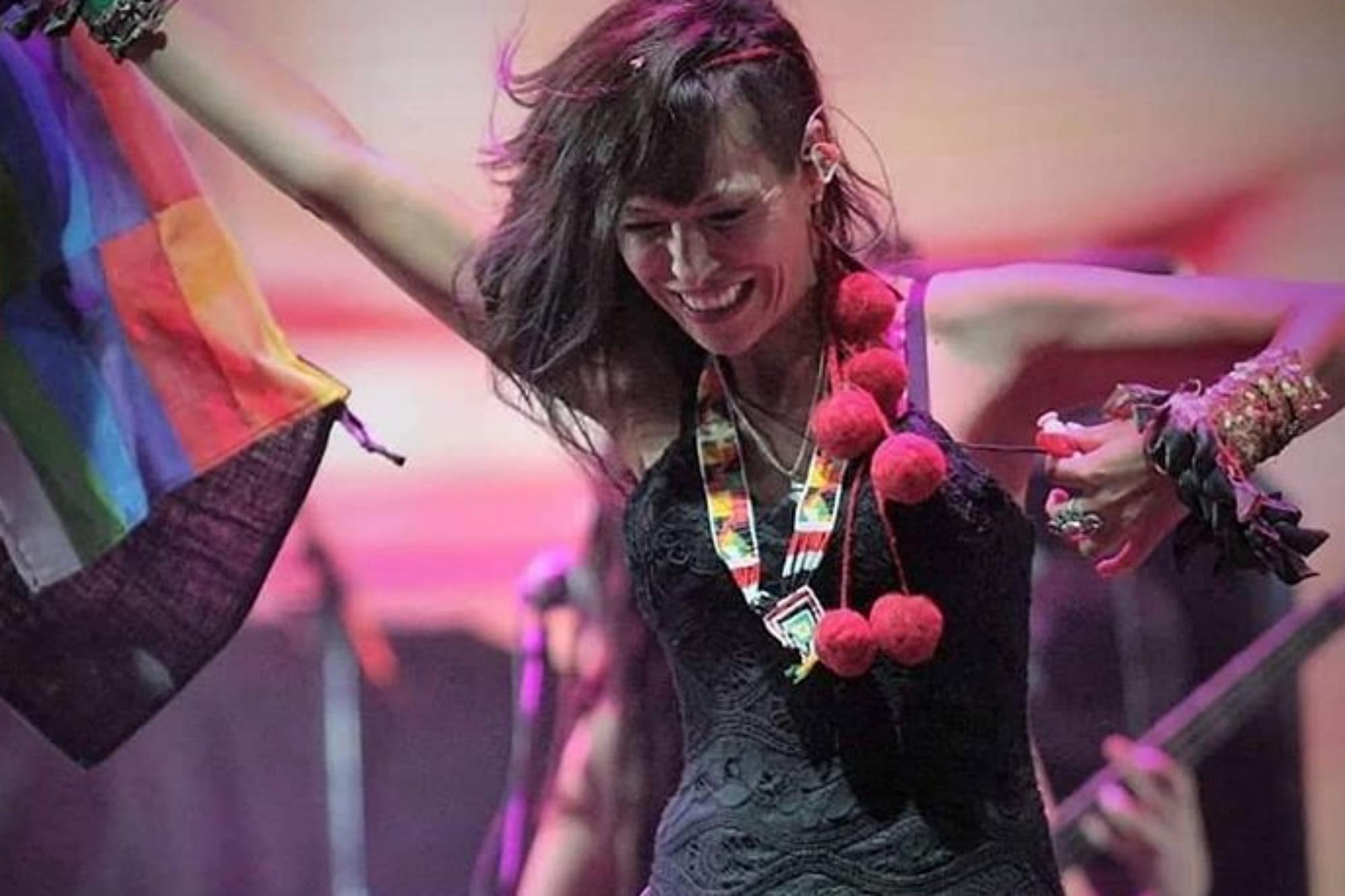 Cómo fue la detención a la folklorista Roxana Carabajal