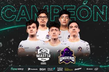 El equipo campeón de la Liga Master Flow de la LVP, Undead Gaming, le ganó al favorito 9z