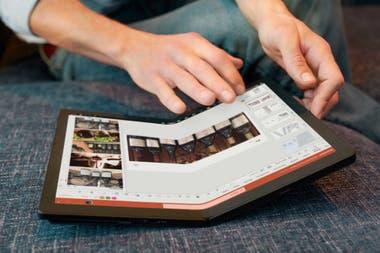 La Lenovo X1 Fold tiene una pantalla plegable de 13,3 pulgadas