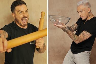 Santiago Bal y el Polaco, dos participantes que dicen saber de asado y después rebuscársela en la cocina