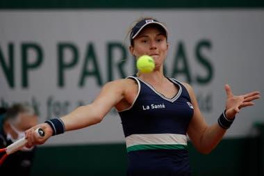 Nadia Podoroska vive su mejor momento profesional.