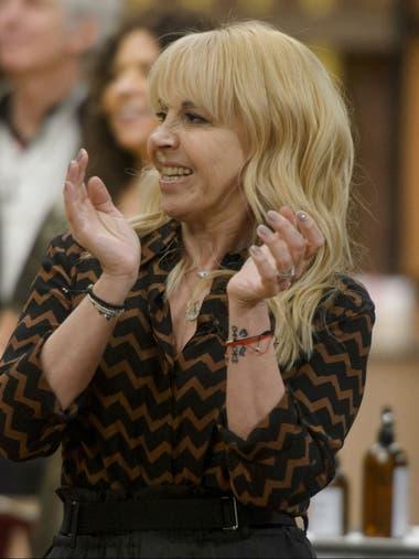Claudia Villafañe, en la primera edición del programa