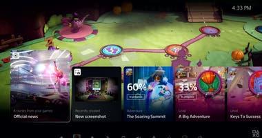 Un repaso por el aspecto que tiene la interfaz gráfica que estrena la PlayStation 5