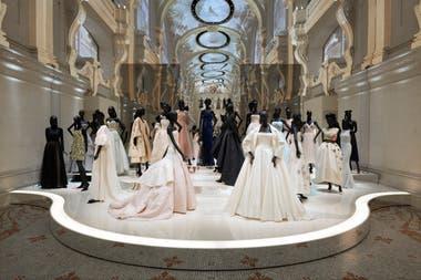 Creaciones de Christian Dior en en MAD de París