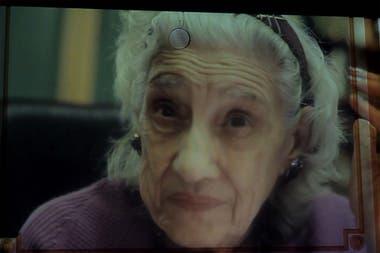 Esther Soto en el documental Rivera 2100
