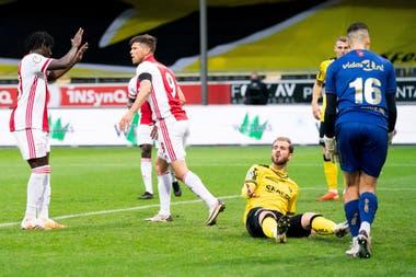 Lassina Traoré anotó cinco goles en el 13-0 de Ajax sobre VVV Venlo