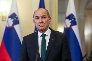 Janez Jansa, el presidente de Eslovenia, es el único que avaló la proclama de Donald Trump al considerarse ganador de las elecciones en los Estados Unidos