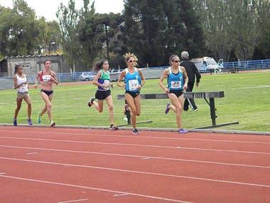 Metros 5000 entrenamiento atletismo