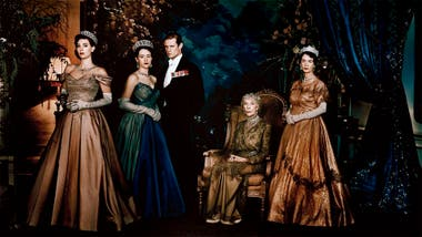 El elenco original de The Crown