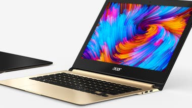 Una Acer Swift 7, la más delgada del mundo: 8,98 mm