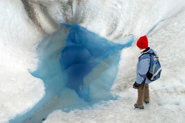 El glaciar Viedma, cercano al Perito Moreno.