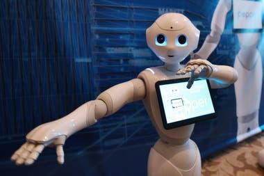 El robot Pepper nació en 2014