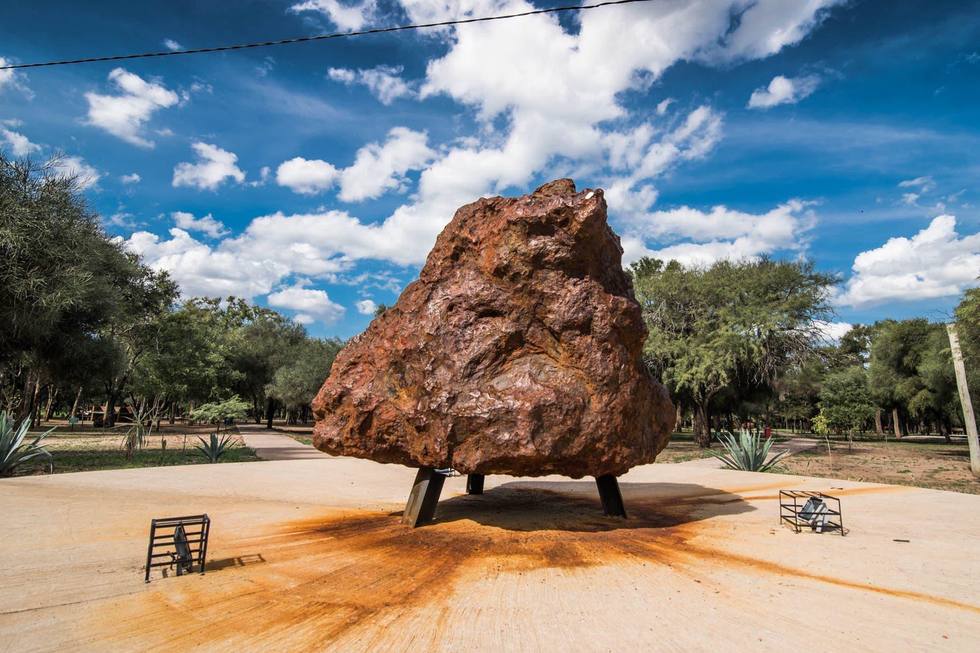 meteorito el chaco (Campo del Cielo)