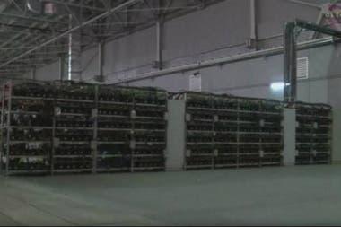 En Plattsburg las minas ya están usando entre un 15 y un 25% de la energía diaria disponible para la ciudad