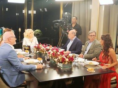"La mesa de ""La noche de Mirtha"""