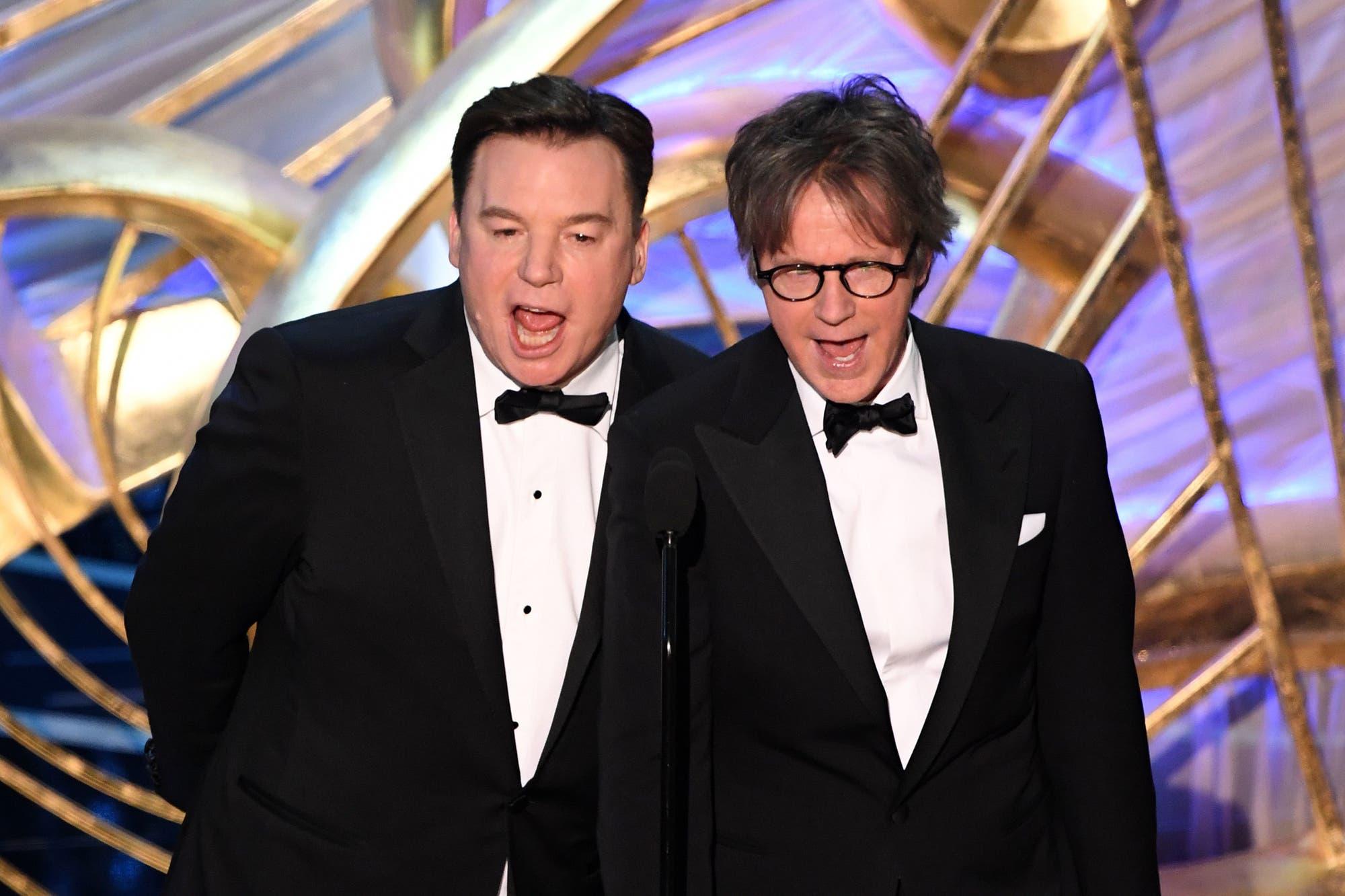 Premios Oscar 2019: los protagonistas de El mundo según Wayne tomaron el escenario