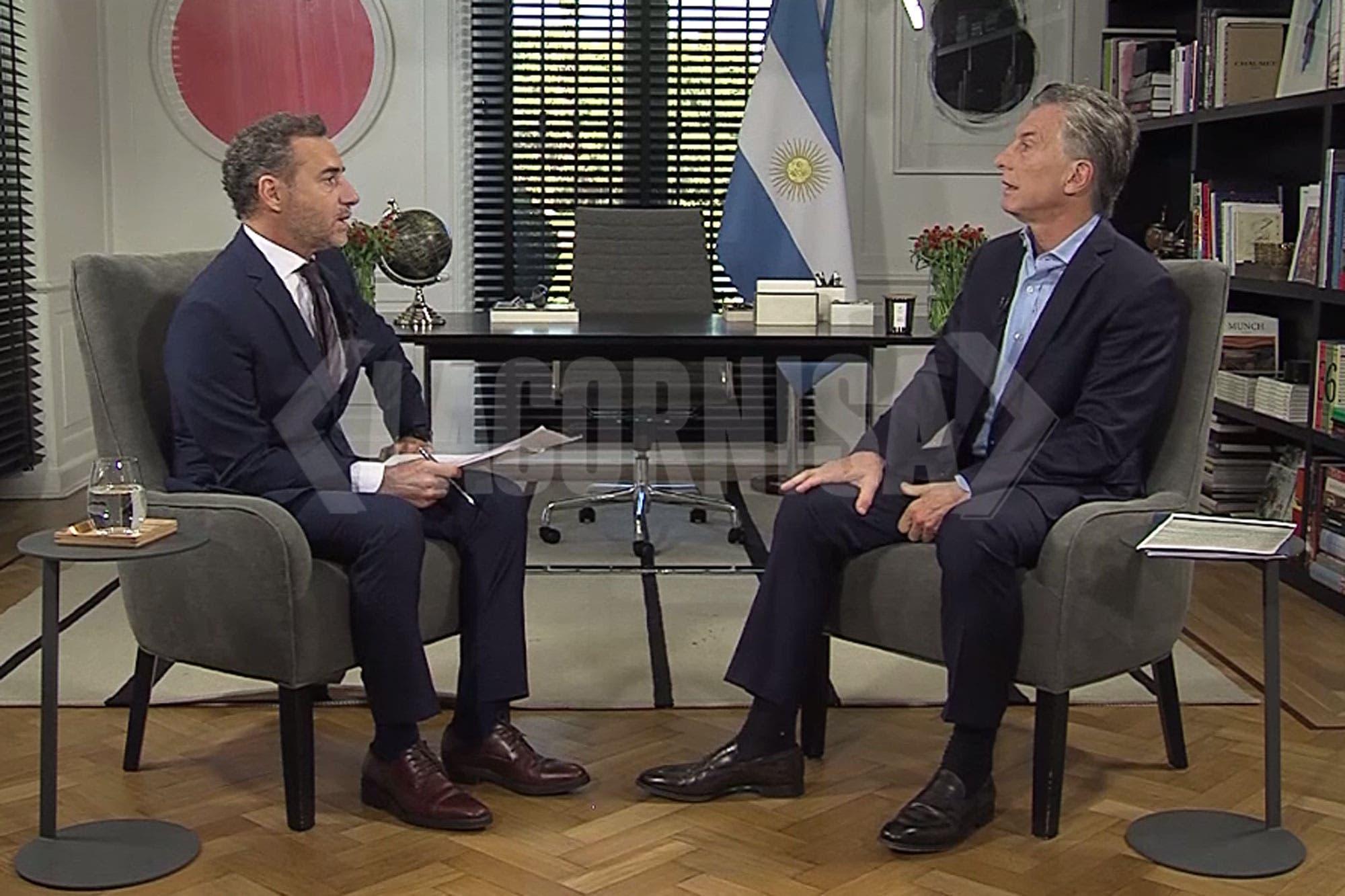 """Mauricio Macri: """"Lavagna tendría que tener más humildad, estuvo en todos los gobiernos anteriores"""""""