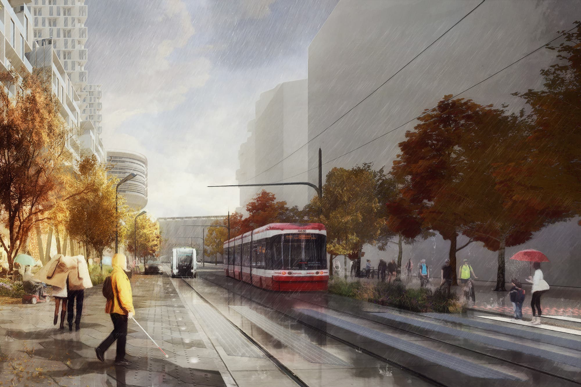 Futurista: la ciudad de Google tendrá veredas dinámicas que se ajustarán según el tránsito