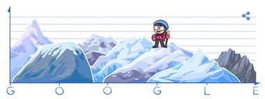 El doodle que le dedicó el gigante de Internet