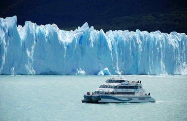 El glaciar Perito Moreno, en El Calafate
