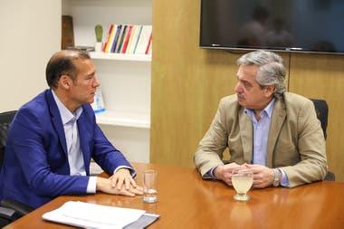El gobernador Omar Gutiérrez habló con Alberto Fernández sobre la caída de las inversiones