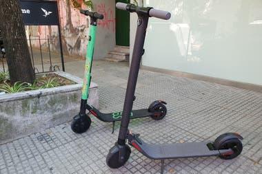 El modelo ES1 de Segway Ninebot sirvió de base para el parque de monopatines de alquiler disponibles en Buenos Aires desde mayo de este año