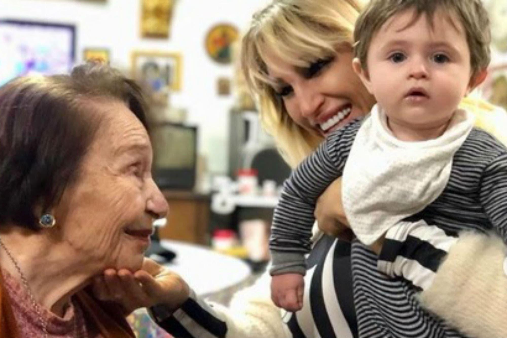 El mal momento de Vicky Xipolitakis por la muerte de su abuela