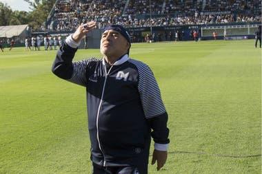 Maradona, dentro del grupo de riesgo durante la pandemia